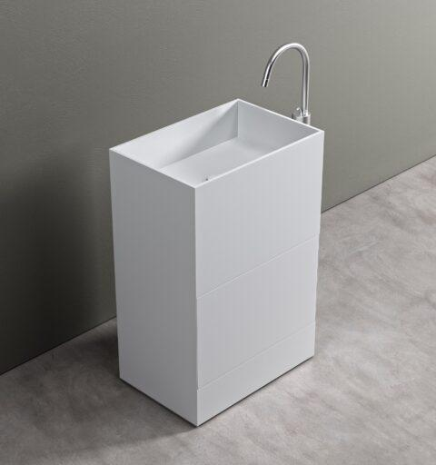iCube XL Cestone Lavabi da Terra Freestanding