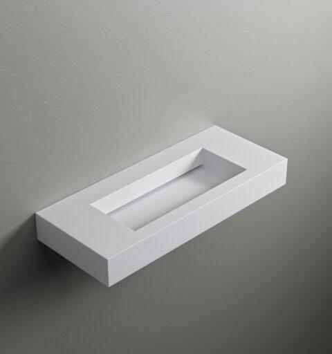 iCloud 80 Lavabo Integrato per Top Sospeso